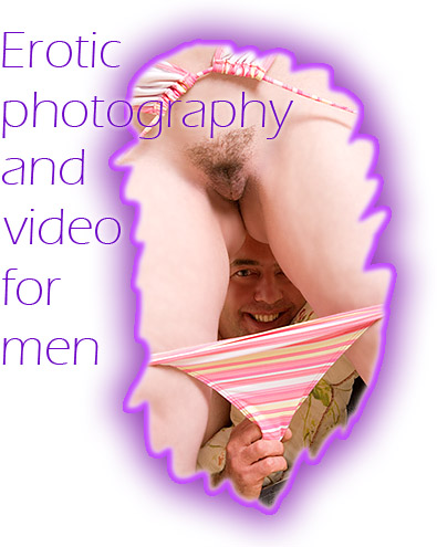 Erotic photography and HD video services for men by female photographer Gina Lorenz
